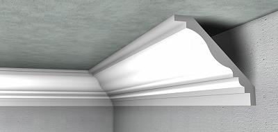 Moulure Plafond Platre prix en maroc de m de moulure creuse lisse en plâtre, pour la